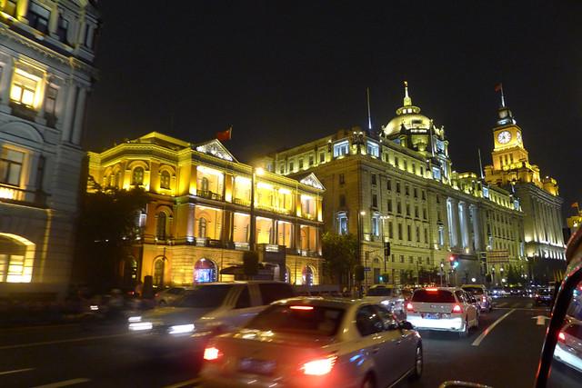 The Bund in Shanghai #shanghai #bund #illumination #architecture #lightup