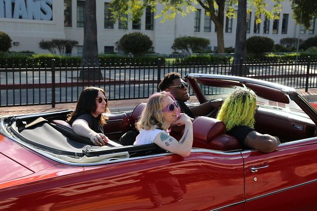 """Behind the Scenes of """"Chasin' Money and Bitches"""" with LA Rockers Love Ghost"""