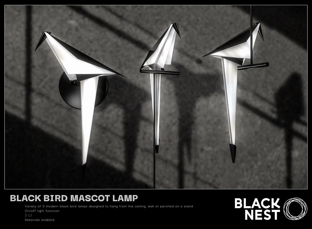 BLACK NEST / Black Bird Mascot / Group Gift