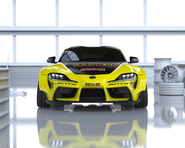 Fredric Aasbø Rockstar Energy | Toyota Racing GR Supra