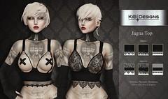 KiB Designs - Jagna Top @Darkness Event