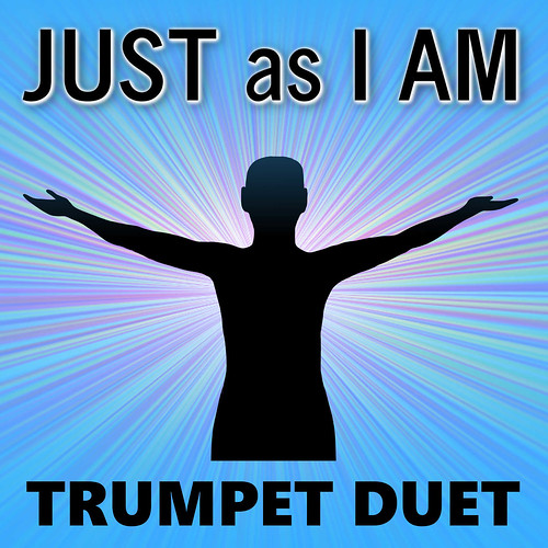 Just as I Am Trumpet Hymn Duet