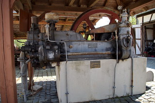 1920 Stationärer Deutz Dieselmotor _c