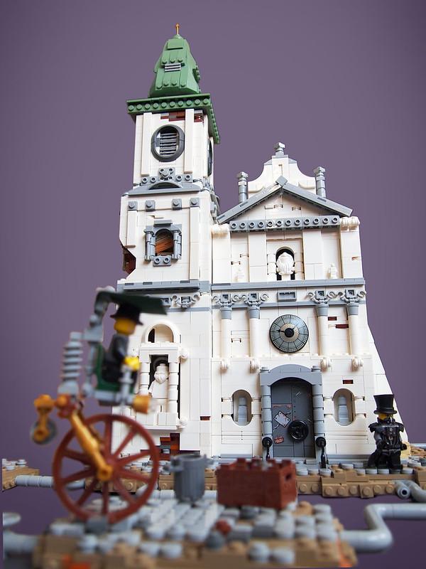 Technopil City Temple