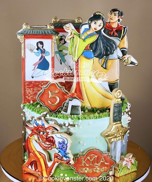 Mulan Cake2020