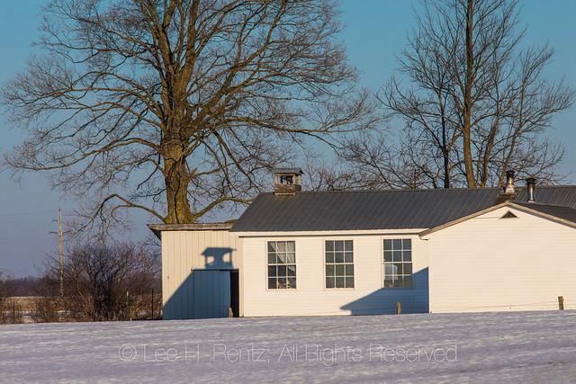 Amish One-Room Schoolhouse