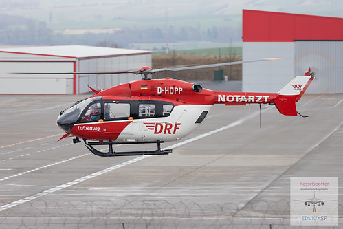 DRF Luftrettung|EC145|D-HDPP|30.03.2020 | by Kasselspotter