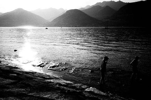 A day at the lake (Ricoh GR1)