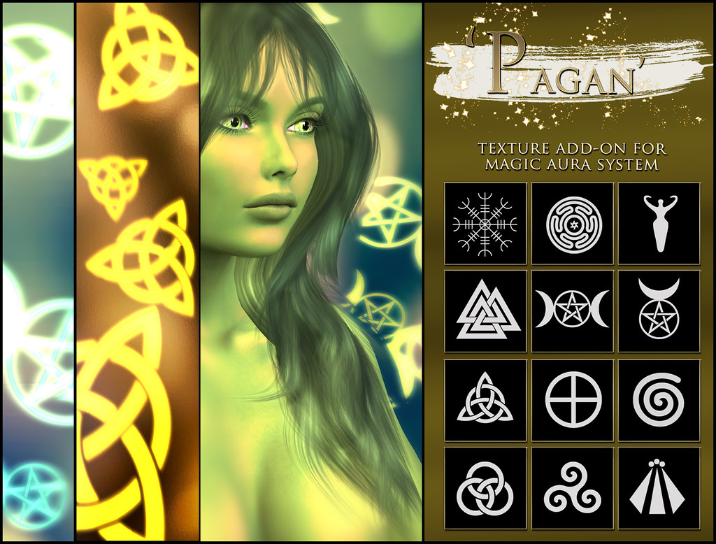 -Elemental' 'Pagan' Texture Addon For Magical Aura