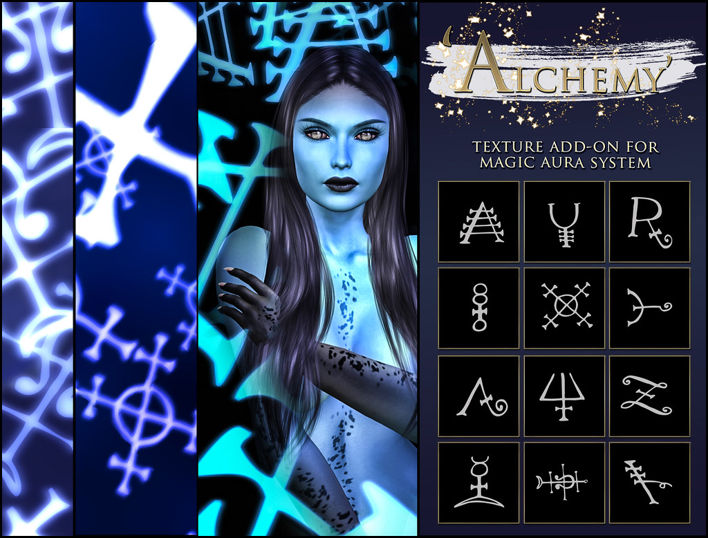 -Elemental' 'Alchemy' Texture Addon For Magical Aura