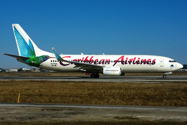 9Y-POS (Caribbean Airlines)