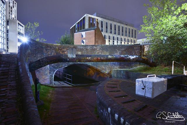 The Digbeth Branch Canal, Curzon Street, Birmingham 12/10/2019
