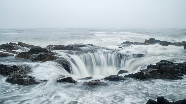 Thor's Well Revisited
