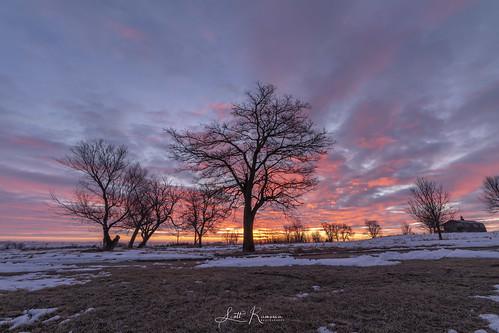 southdakota siouxfalls sunrise park winter landscape radarrasmusson scottrphoto