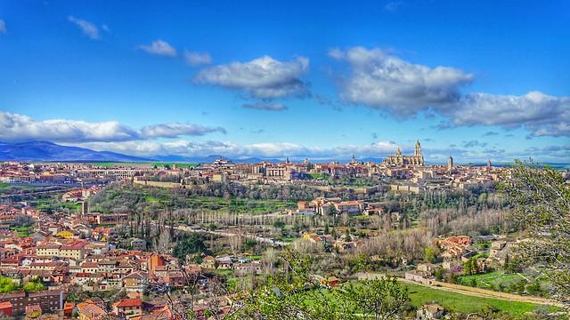 Peaceful Scenery from Segovia