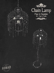 NOMAD // Chain Lamp FLF
