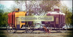 crate Cannetella Carriages for Anthem's Fairytale Whimsical Round