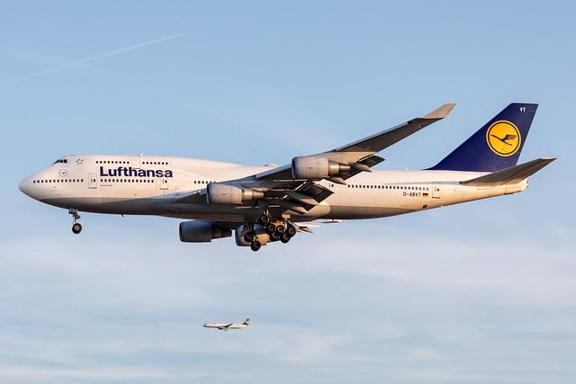 D-ABVT Lufthansa Boeing 747-430