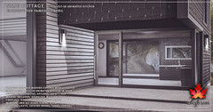 Trompe Loeil - Silje Cottage with Kitchen for FaMESHed April