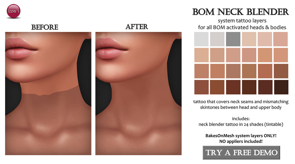 BOM Neck Blender (for FLF)