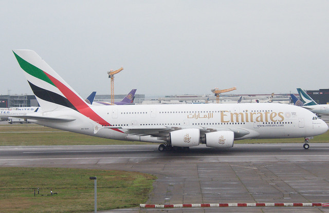 Emirates A6-EOH Airbus A380-861