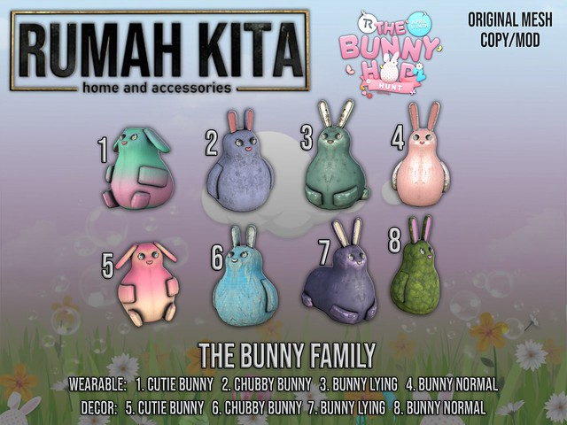 Rumah Kita - The Bunny Family - Bunny Hop Hunt