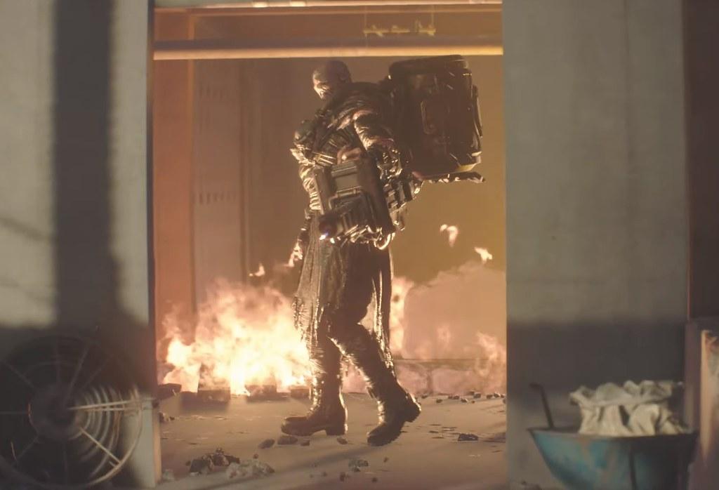 Resident Evil 3 Remake - Lança-chamas Nemesis