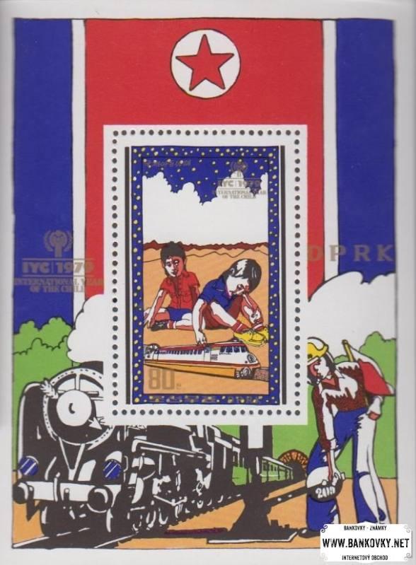 Známky Severná Kórea 1979 Rok Kinof razítkovaný hárček