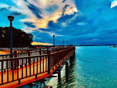 beachwalk beach sunsets singapore