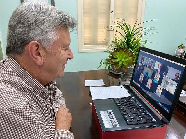 26/03/2020 Reunião Lideranças Alegrete
