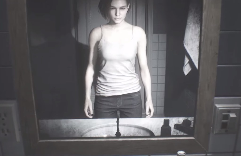 Resident Evil 3 Remake - Jill Bathroom