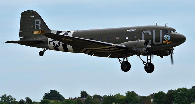 BAD_3774 Douglas C-53B converted to a DC-3A N45366 268830 D-Day Doll