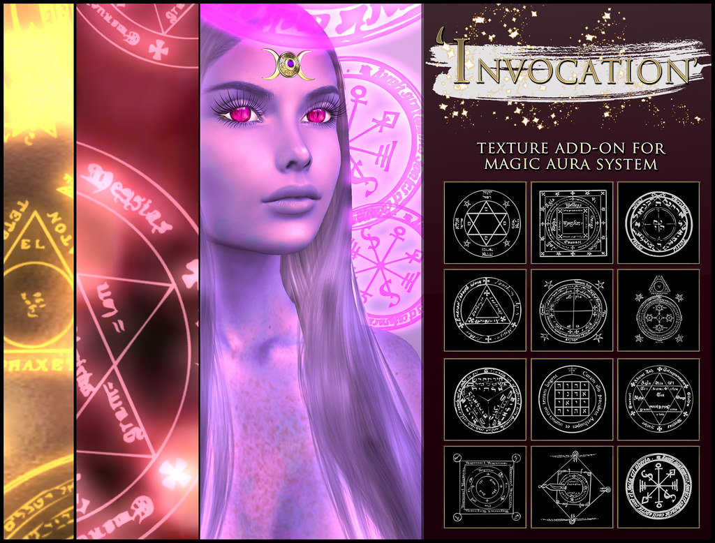 -Elemental' 'Invocation' Texture Addon For Magical Aura