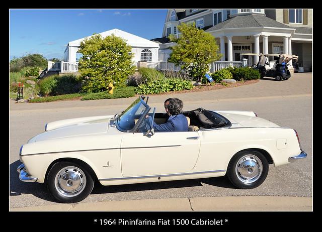 1964 Pininfarina Fiat 1500 Cabriolet