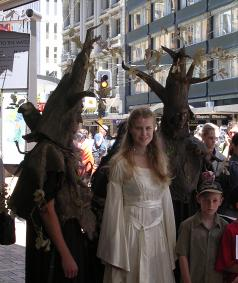Ents and an Elven Maid