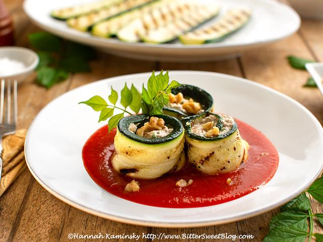 Creamy Zucchini Pinwheels 2