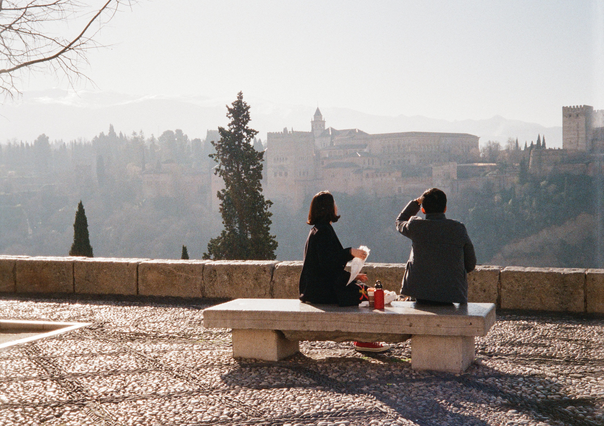 Overlooking The Alhambra