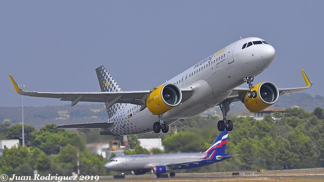 EC-NCG - Vueling - Airbus A320-271N - PMI/LEPA
