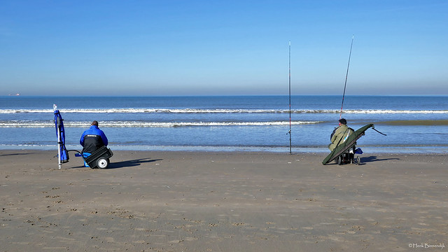 Katwijk aan Zee: North Sea beach