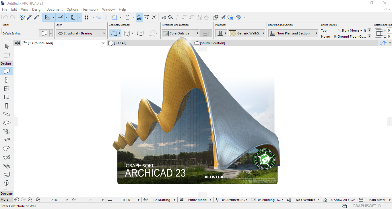 Working with GRAPHISOFT ARCHICAD 23 full license