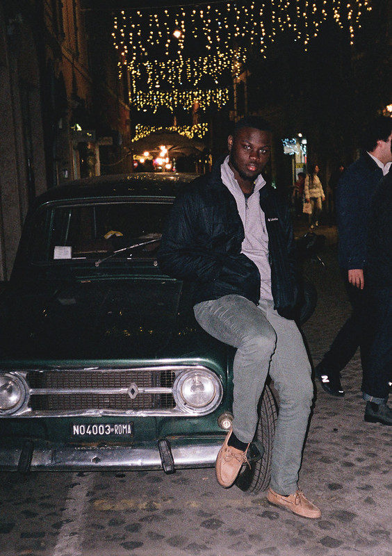 Jevon on the Car