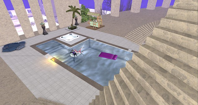 Government Building Pool