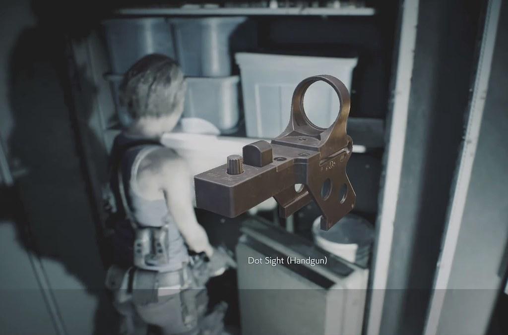 Resident Evil 3 Remake - Visão do Ponto
