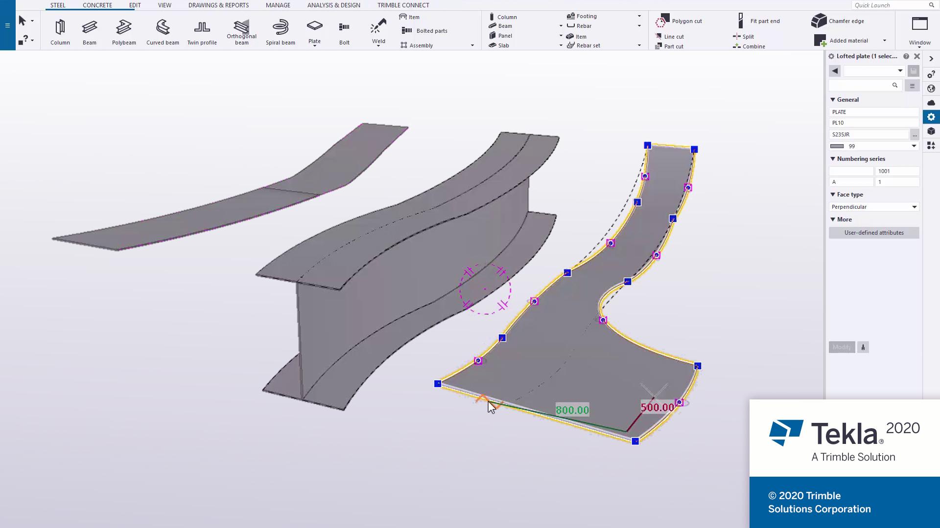Design with Trimble Tekla Structures 2020 full license
