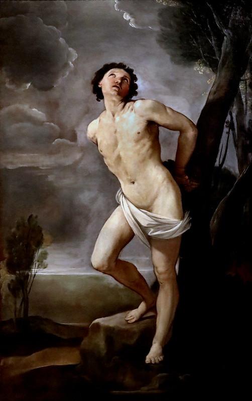 IMG_7983 Guido Reni 1575-1642  Bologna  Saint Sébastien 1640  235x137 Bologna Pinacoteca Nazionale