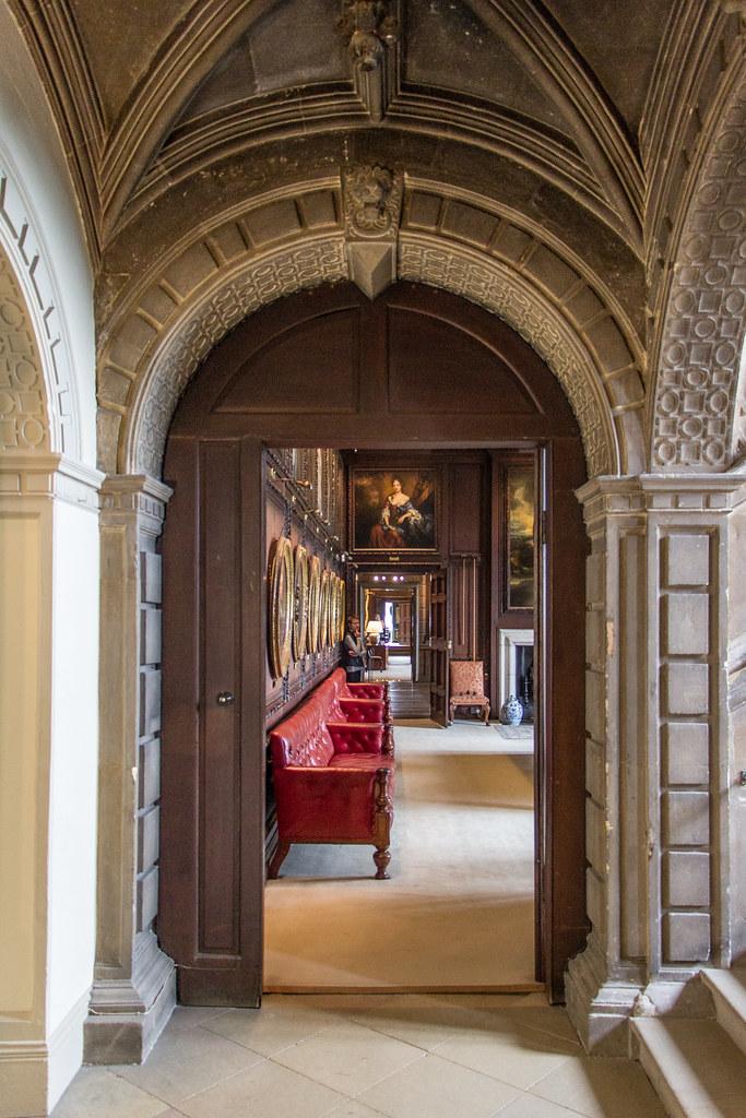 Roman Staircase, Burghley House, England