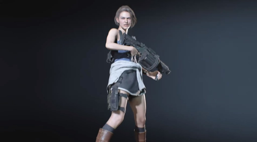 Resident Evil 3 Remake Censors Jill S Classic Outfit By Turning
