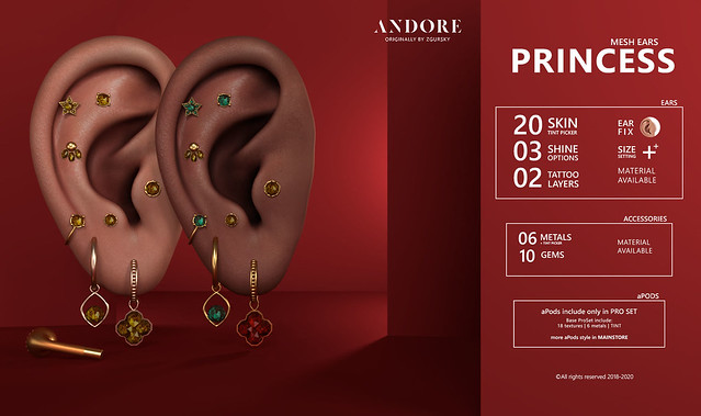 :ANDORE: @ Exclusive for Anthem Event