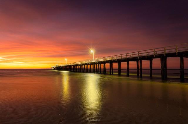 Way before sunrise