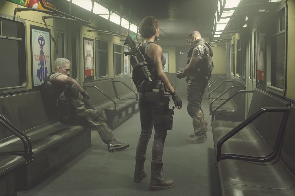Resident Evil 3 Remake - Subway